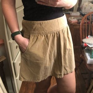 Old Navy Corduroy Skirt With Pockets